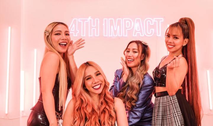 filipino girl group 4th impact sisters
